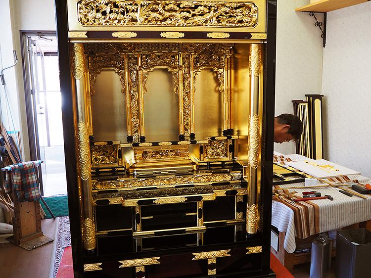 古いお仏壇