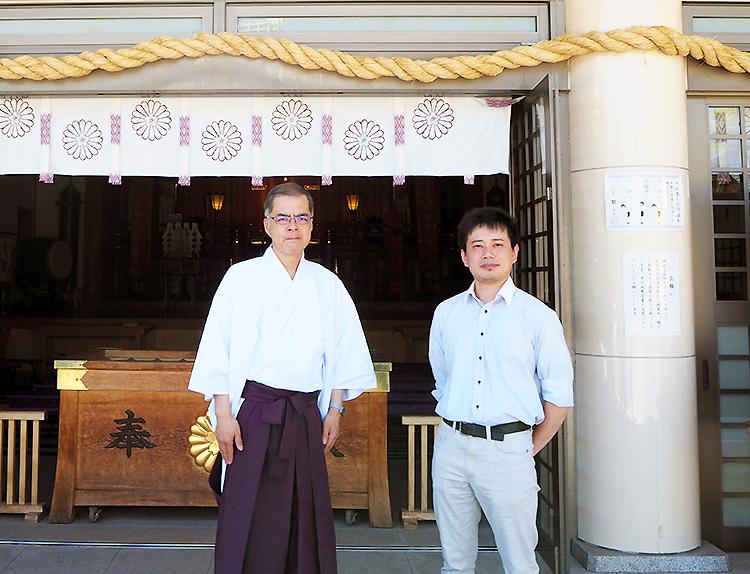 松下さんと石川