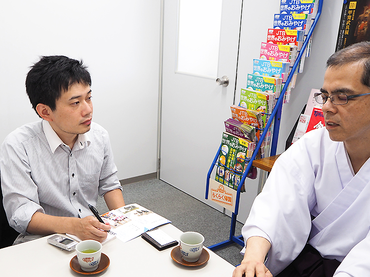 石川と松下さん