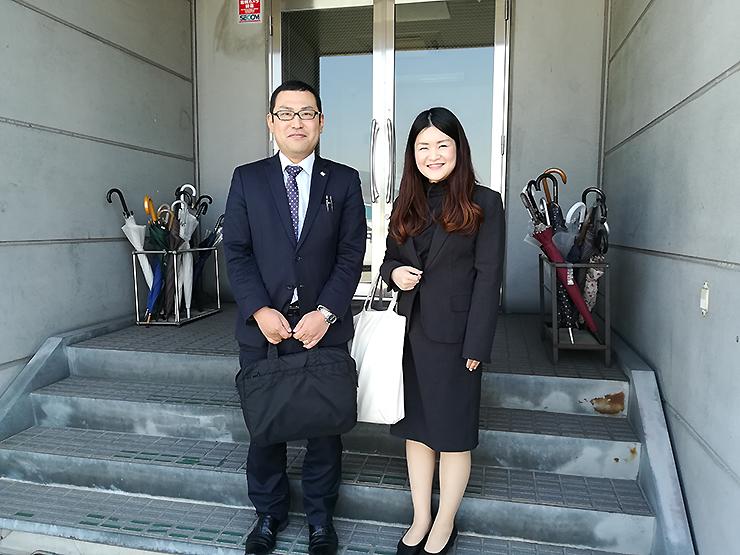 川本さんと西村さん